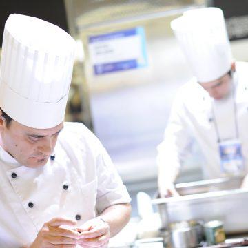 chef, alimentación, torneo