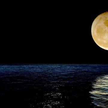 súper Luna rosa